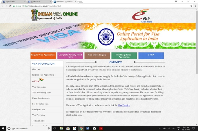 Indian Visa Online
