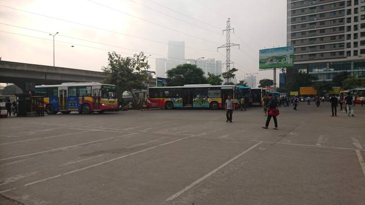Sunday 4 November 2018: Goodbye Hanoi (for now) – catching the bus from Hanoi to Ha Giang