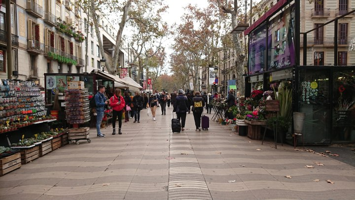 16 December 2018 – Diary entry: a week in Barcelona during winter (inDecember)