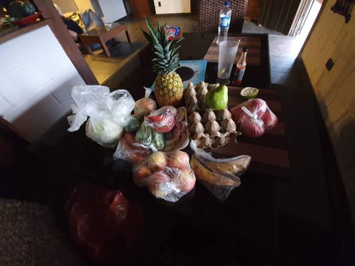 colombian food - pina