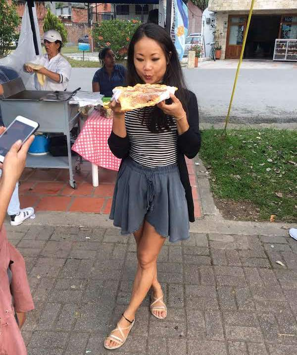 colombian food - street food
