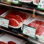 japan perfectly marbled steak
